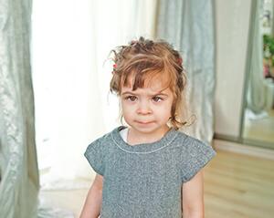 Girl With Amblyopia
