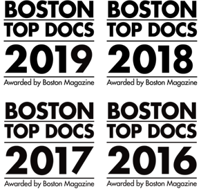 Boston Top Docs 2017 Awarded by Boston Magazine Logo